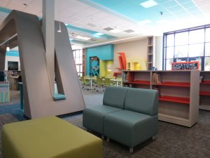 Ida Freeman Media Center Soft Seating